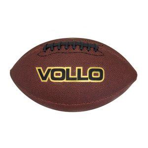 Bola de Futebol Americano Vollo Tamanho Oficial 9 - Marrom