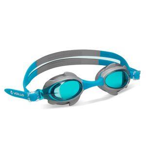 Óculos de natação Shark Fin Vollo Azul e Prata