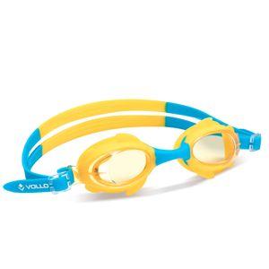 Óculos de natação Shark Fin Vollo Azul e Amarelo