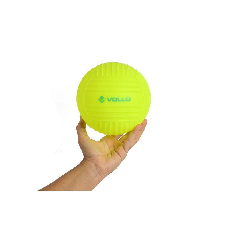 VV015-2-Bola-Mini-de-Iniciacao-ao-Polo-Aquatico-15-CM-Amarela-Vollo--Foto-1